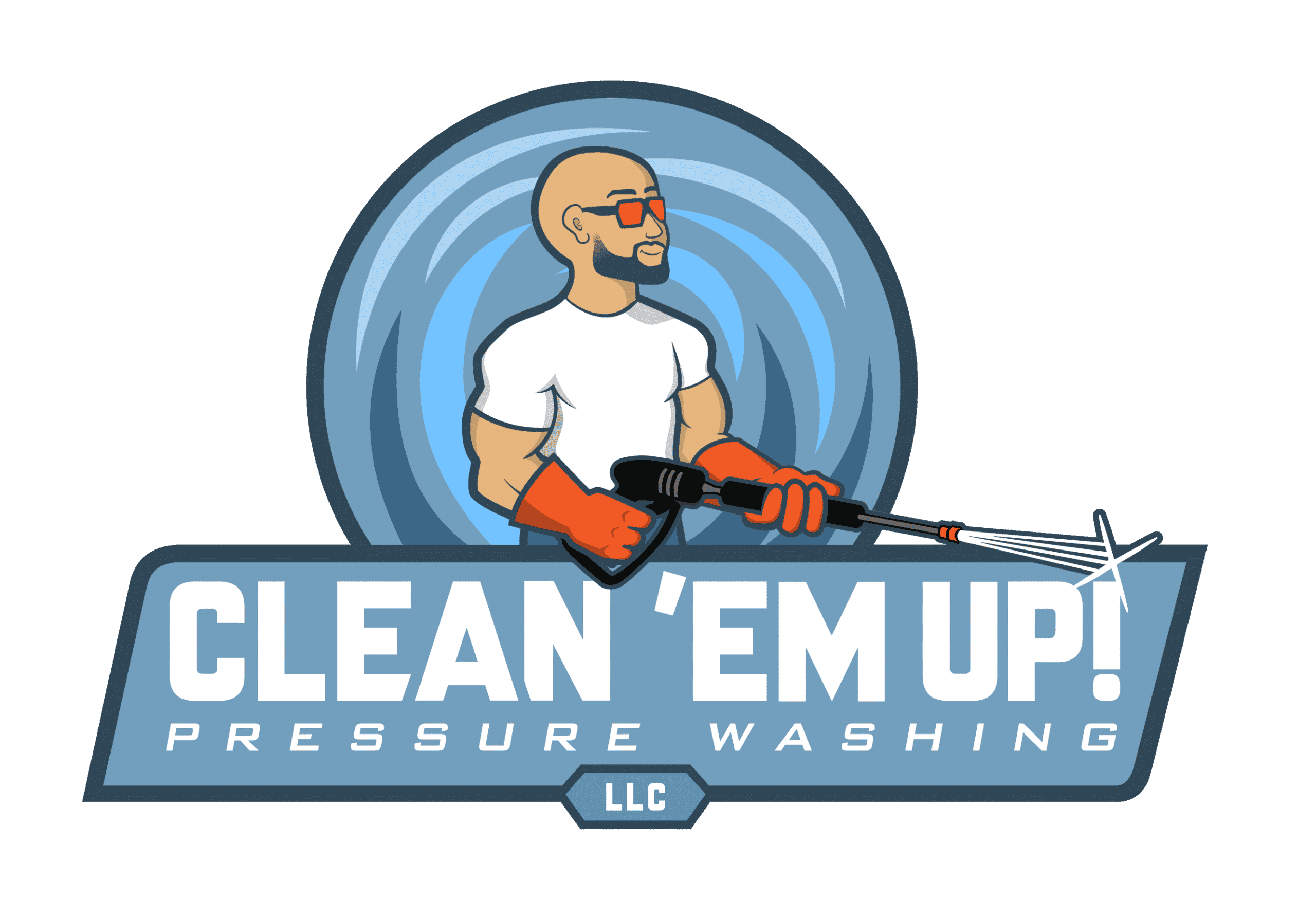 Clean Em Up PW Logo clean