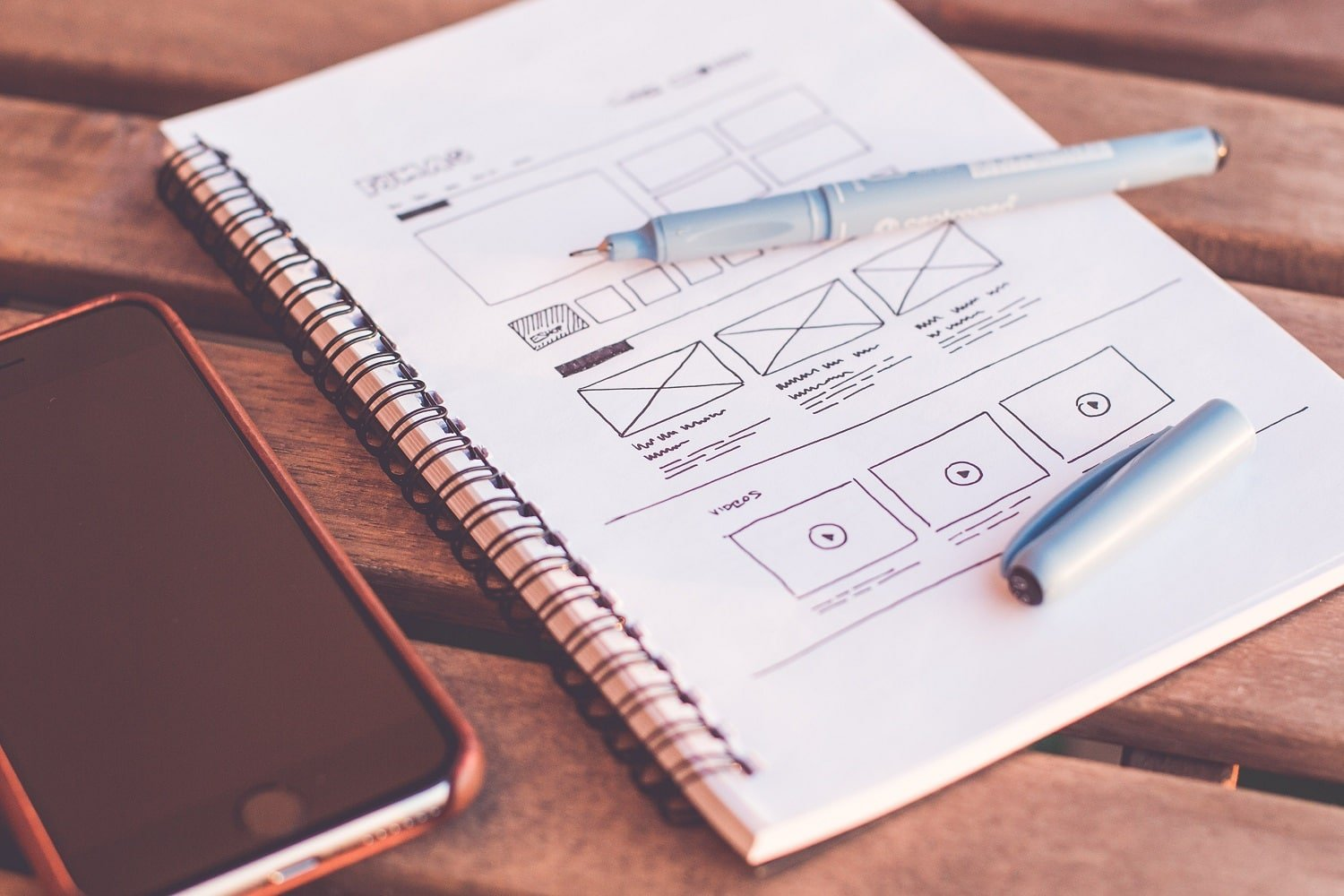 web design: a good first impression loaded quickly